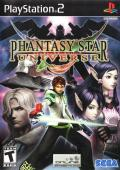 Phantasy Star Universe PlayStation 2 Front Cover