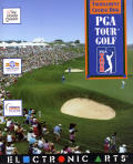 PGA Tour Golf: Tournament Course Disk DOS Front Cover