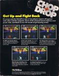 Chop N' Drop Commodore 64 Back Cover