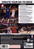 NBA Live 08 PlayStation 2 Back Cover
