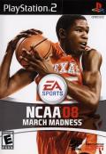 NCAA March Madness 08 PlayStation 2 Front Cover