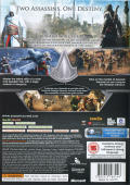 Assassin's Creed: Revelations Xbox 360 Back Cover