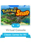 Pokémon Snap Wii Front Cover