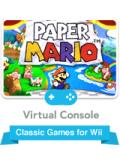 Paper Mario Wii Front Cover