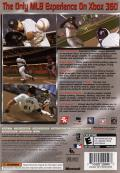 Major League Baseball 2K6 Xbox 360 Back Cover