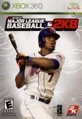 Major League Baseball 2K8 Xbox 360 Front Cover
