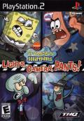 SpongeBob SquarePants: Lights, Camera, Pants! PlayStation 2 Front Cover
