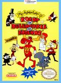 The Adventures of Rocky and Bullwinkle and Friends NES Front Cover