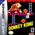 Donkey Kong Game Boy Advance Front Cover