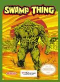 Swamp Thing NES Front Cover