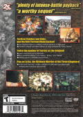 Dynasty Tactics 2 PlayStation 2 Back Cover
