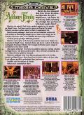 The Addams Family Genesis Back Cover