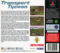 Transport Tycoon PlayStation Back Cover