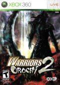 Warriors Orochi 2 Xbox 360 Front Cover