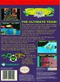 Battletoads & Double Dragon: The Ultimate Team NES Back Cover