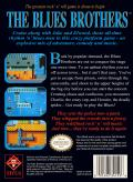 The Blues Brothers NES Back Cover