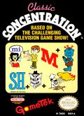 Classic Concentration NES Front Cover