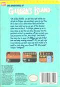 The Adventures of Gilligan's Island NES Back Cover