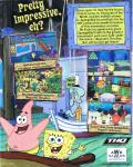SpongeBob SquarePants: Employee of the Month Windows Back Cover