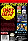 Danny Sullivan's Indy Heat NES Back Cover