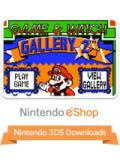 Game & Watch Gallery 2 Nintendo 3DS Front Cover
