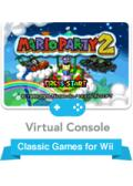 Mario Party 2 Wii Front Cover