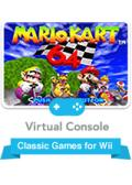 Mario Kart 64 Wii Front Cover