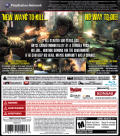NeverDead PlayStation 3 Back Cover