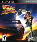 Back to the Future: The Game PlayStation 3 Front Cover