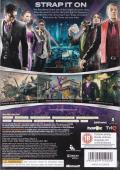 Saints Row: The Third Xbox 360 Back Cover