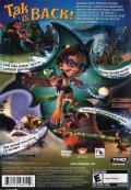 Tak 2: The Staff of Dreams PlayStation 2 Back Cover