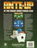Ante-Up at The Friday Night Poker Club DOS Back Cover