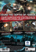 Cold Fear PlayStation 2 Back Cover