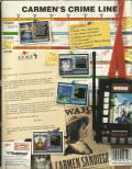 Where in Time is Carmen Sandiego? DOS Back Cover