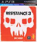 Resistance 3 PlayStation 3 Inside Cover Front of Flip Cover without USK Logo