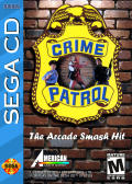 Crime Patrol SEGA CD Front Cover