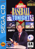 ESPN Baseball Tonight SEGA CD Front Cover