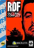 RDF: Global Conflict SEGA CD Front Cover