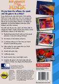 Revenge of the Ninja SEGA CD Back Cover