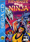 Revenge of the Ninja SEGA CD Front Cover
