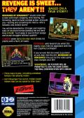 Revengers of Vengeance SEGA CD Back Cover