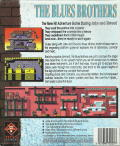 The Blues Brothers DOS Back Cover