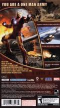 Iron Man PSP Back Cover