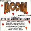 The Complete DOOM Accessory Pack DOS Front Cover