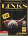 Links: The Challenge of Golf DOS Front Cover