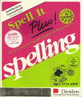 Spell It Plus! DOS Front Cover