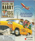 Headline Harry and The Great Paper Race DOS Front Cover