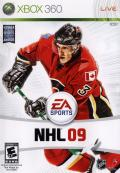 NHL 09 Xbox 360 Front Cover