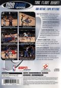 ESPN NBA 2Night 2002 PlayStation 2 Back Cover