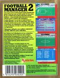Football Manager 2 Amstrad CPC Back Cover